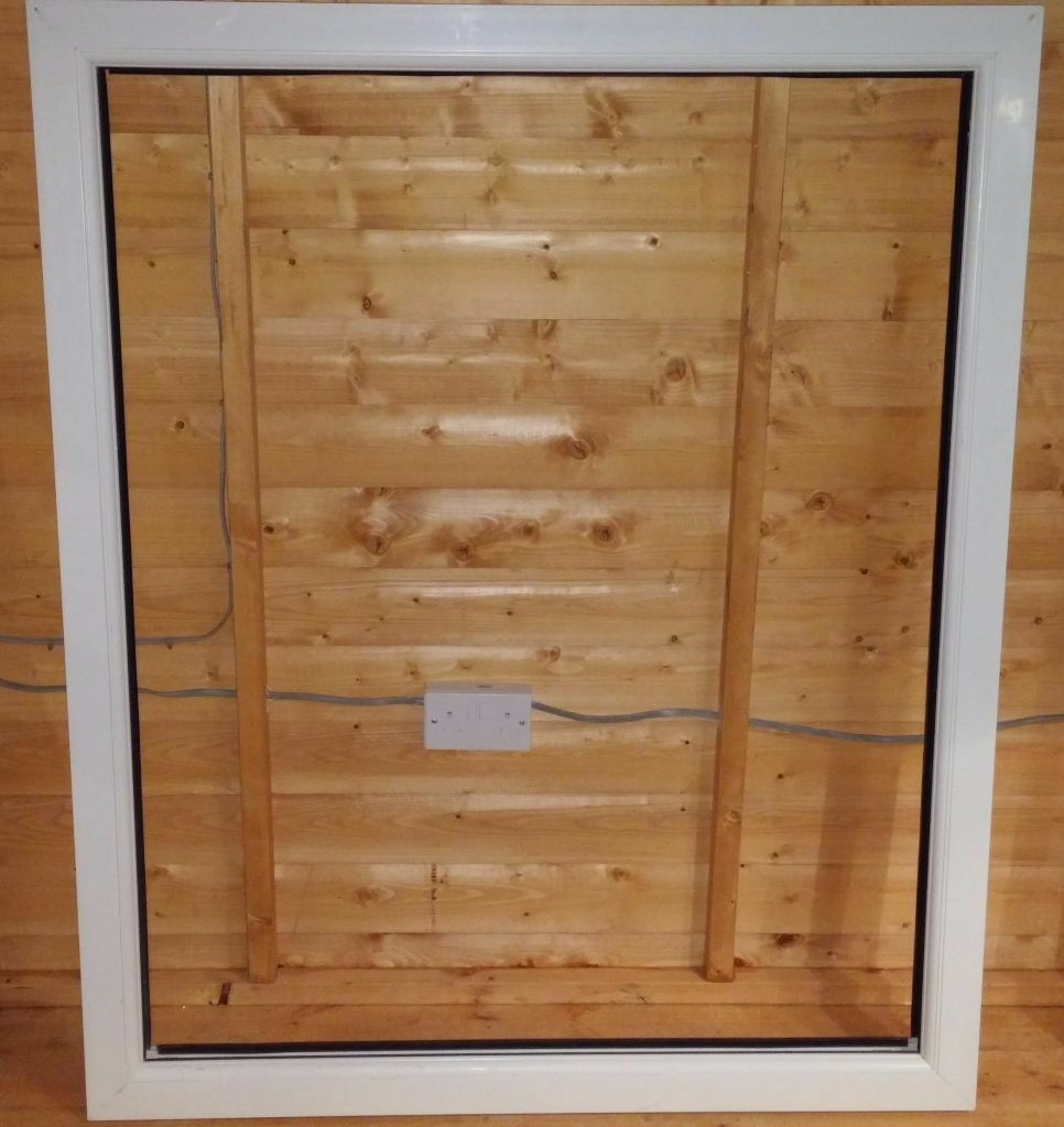 Upvc window frame no glass excellent condition in for Upvc window frame