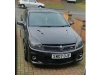 VAUXHALL ASTRA VXR BONNETT WITH JAGUAR VENTS LOOKS AMAZING GREAT MODIFICATION
