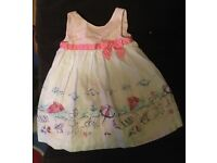 Beutiful dress for girl 9-12 months