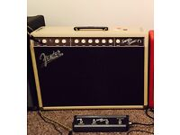 Fender Supersonic 22 112 Combo Amp in Blonde and Oxblood