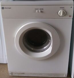 WHITE KNIGHT 6KG VENTED DRYER -IN GOOD WORKING ORDER