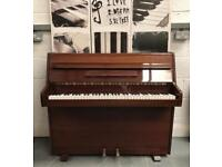 "🎵🎹*** CAN DELIVER*** small MODERN UPRIGHT PIANO BY ""ZENDER"" *** CAN DELIVER***🎵🎹"
