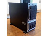32GB 2x XEON Quad Core E5335 2GHz HP ProLiant ML350 G5 Server 2x 146GB SAS Vmware 6