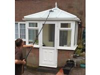 Window Cleaning and Conservatory roof cleaning service.