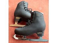 Edea Concerto 5* black ice skates - size 230 (2) 8.5 inch Sheffield steel blades - just sharpened