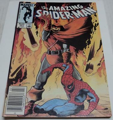- AMAZING SPIDER-MAN #261 (Marvel 1985) HOBGOBLIN & ROSE app (FN/VF) Vess cover