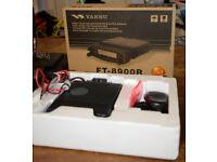 Yaesu FT-8900R Transceiver Quad Band 50W, 10m, 6m, 2m, 70cm, Hardly used, Boxed, Detach front, Yeasu