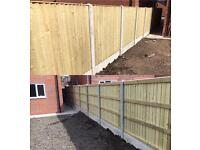 HIGH QUALITY HEAVY DUTY TANALISED WOODEN WAYNEYLAP/ STRAIGHT TOP/ ARCH TOP FENCE PANELS 👍🏼