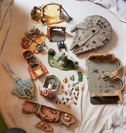 Star Wars micro machines action figures and set