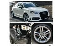 Audi A1 S Line 62 plate