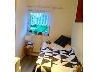 Single room in a purpose built split level flat