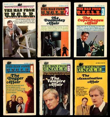 The Man From Uncle  1  2  3  4  6  10 Paperbacks