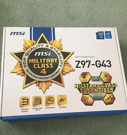 MSI Z97-G43 motherboard
