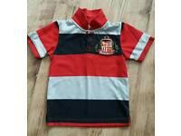 Sunderland AFC boys polo shirt size 4-5 years