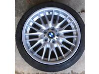 BMW MV1 wheels and tyres