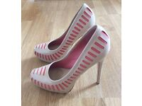 ALDO RISE SS12   Nude leather shoes for sale - Size 38/UK 5