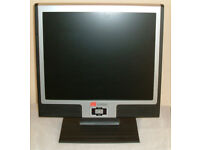 "19"" TFT LCD Monitor with built in speakers."