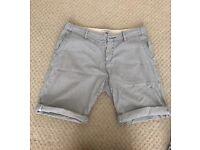 "River Island lightweight pinstripe 30"" Shorts"