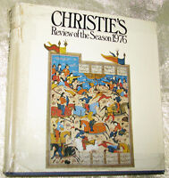 CHRISTIE'S REVIEW OF THE SEASON - FABERGE, TURNER, etc., 1976