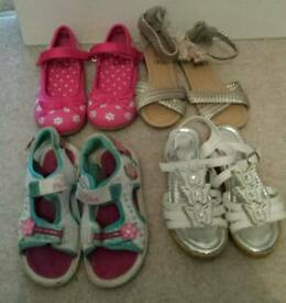 Girls size 10 shoe bundle