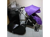 Icandy apple 2 pear travel system. Excellent Condition