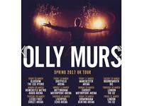 3X OLLY MURS PLATINUM TICKETS SSE GLASGOW 3rd march