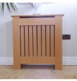 Oak style radiator cover