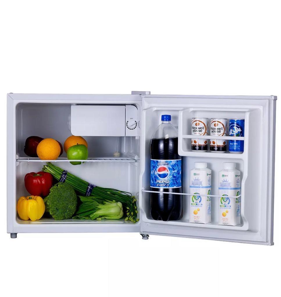 Mini Fridge 45l Compact Manual Defrost Office Single Door Portable Refrigerator