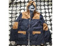 Men's Large Blue and Brown Cargoquay