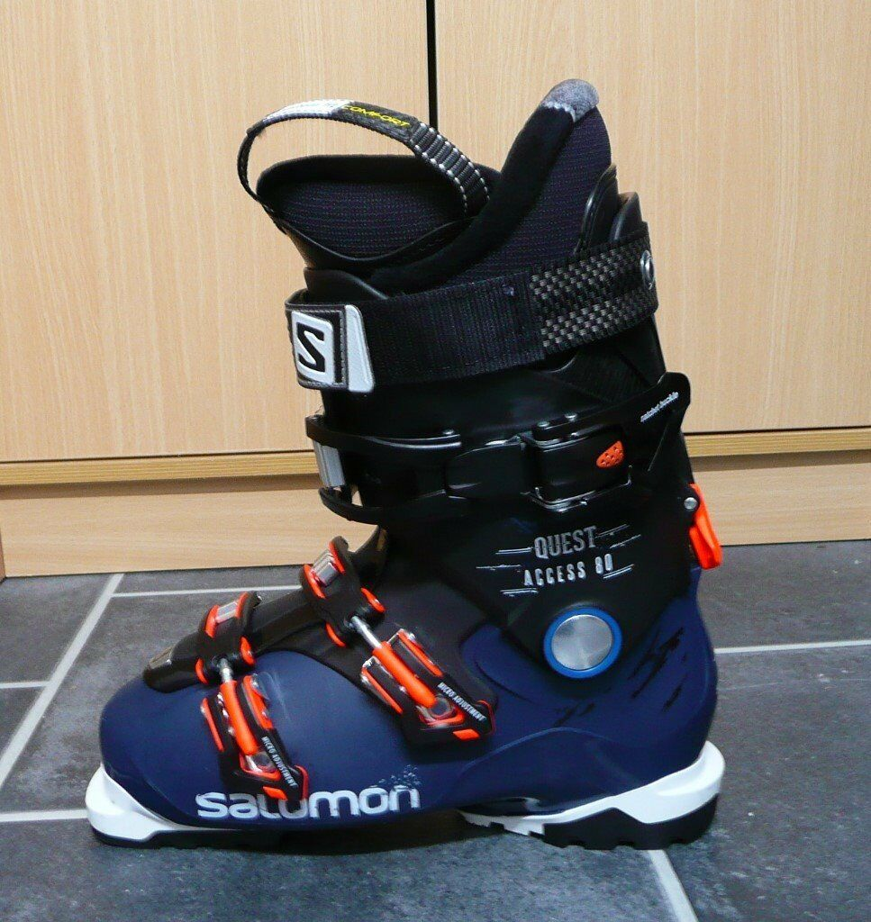 8d1013ca7e7a Mens Ski Boots Salomon Quest Access 80 size 8UK only worn for one week