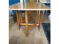 Folding table, good condition