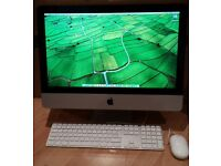 """Apple iMac 21.5"""" A1311, 3.06GHz, Core i3 CPU, 8GB Ram and 500GB HD in Excellent Working Condition"""