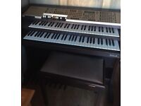 ORLA GT3000 electric organ with stool, nearly new.