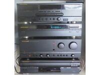 Marantz Stereo Syestem PM 62 Amplifier, Tuner, Cassette Player