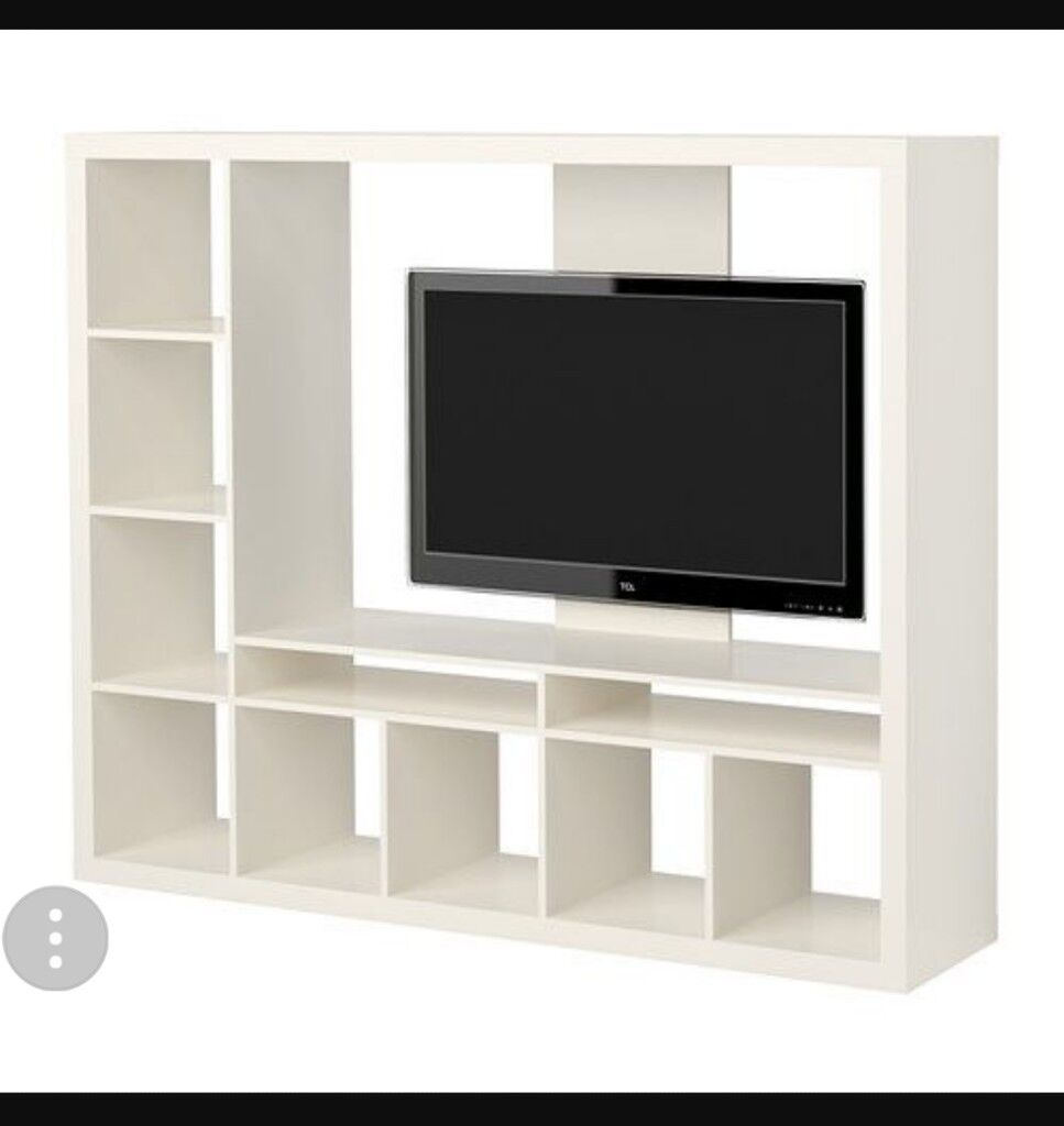 Meuble Tv Ikea Expedit - Large White Ikea Expedit Kallax Tv Unit In Brentry Bristol [mjhdah]http://www.ikea.com/gb/en/images/products/lappland-tv-storage-unit-black-brown__0246278_pe385388_s5.jpg