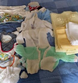 Bundle of clothes, 0-6 months