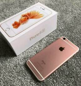 I am selling my iPhone 6s rose gold on Vodafone network