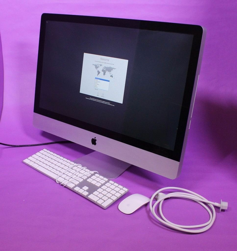 "27"" Apple iMac Decktop Core 3.06Ghz 8gb 1Tb Microsoft Office 2016 VectorWorks 2016 Final Cut Pro Xin Enfield, LondonGumtree - 27 INCH SCREEN Apple iMac Desktop Computer 3.06Ghz Core Processor, 8GB Ram, 1TB HDD IN GREAT CONDITION RUNNING NEW OSX SIERRA CHECKMEND and POLICE CHECK WELCOMED FREE DELIVERY Apple Mac Computer sold as described with pre loaded multimedia software...."