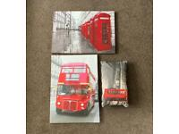 London Canvas Prints and Pillow
