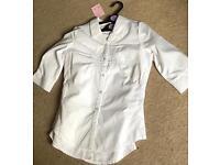 Brand New Girls two Debenhams school shirts size 14 years