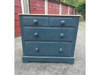 Gorgeous english pine chest of drawers Annie Sloan paint blend