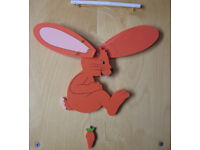 Wooden Flapping Bunny