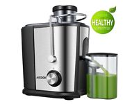 Aicook Wide Mouth Juice Extractor Juicers for Whole Fruit and Vegetable,