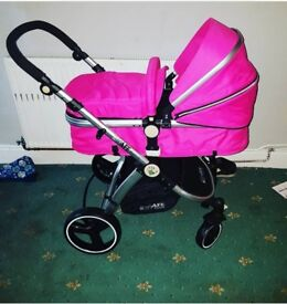 SWAPS!! - iSafe travel system in raspberry pink