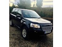 Black Land Rover Freelander 2 XS TD4 ~79k, Tow Bar, Full Dealer History