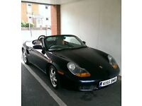 Porsche Boxster 1999 2.5 (Lapis Blue) in great condition with 67'000 miles and full service history