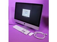 "27"" Apple iMac QuadCore i5 2.7Ghz 8gb 1Tb hd Logic Cubase FL Studio Ableton Waves Izotope Mastering"