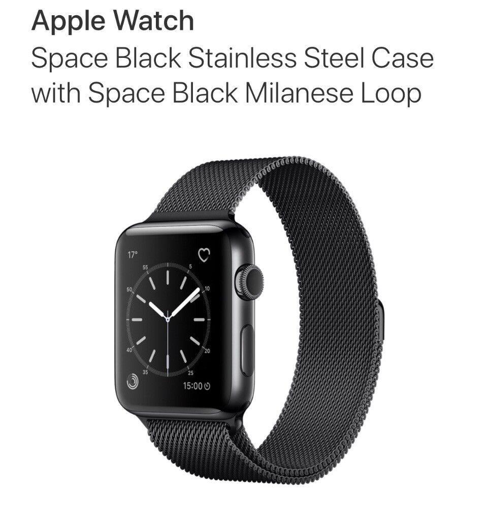 Apple Watch Series 2 - Black Stainless Steel - 42mm