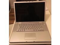"Apple MacBook Pro A1260 15.4"" Intel 2.4ghz, 4GB ram, 200GB hard drive, Nvidia 8600GT 256mb"