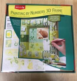 Paint your own baby frame